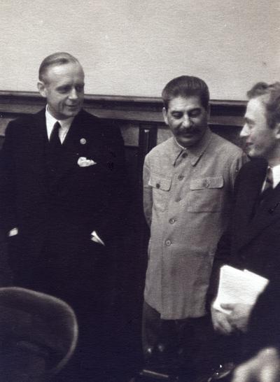 Бережков переводчик сталина